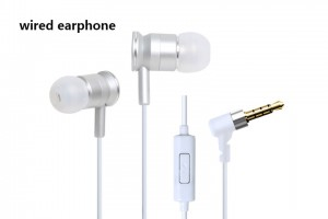 high quality bass wired earphone supplier wholesale wired earphone wired earphone maker wired earphone low price